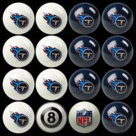 Tennessee Titans NFL Home vs. Away Pool Ball Set