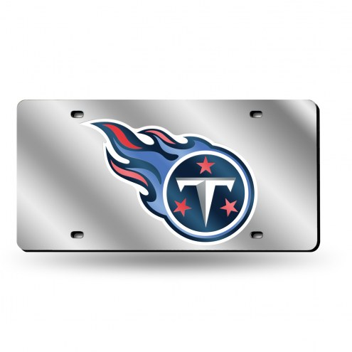 Tennessee Titans NFL Silver Laser License Plate