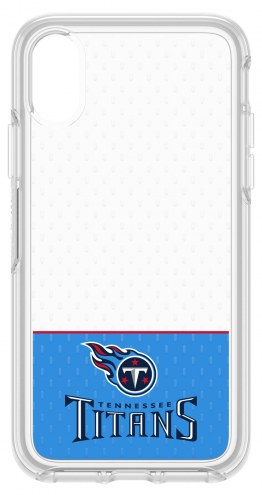 Tennessee Titans OtterBox iPhone X Symmetry Clear Case