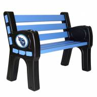 Tennessee Titans Park Bench