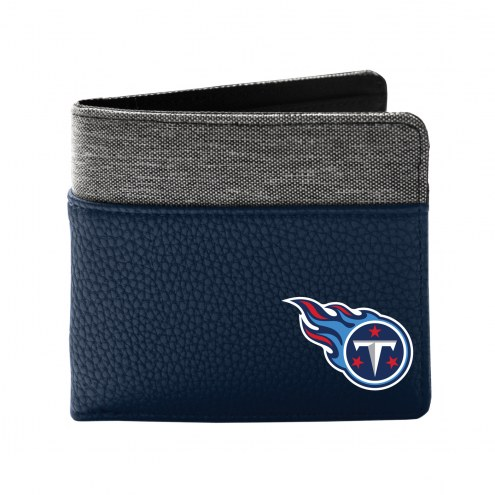 Tennessee Titans Pebble Bi-Fold Wallet