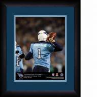 Tennessee Titans Personalized 13 x 16 NFL Action QB Framed Print
