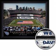 Tennessee Titans 11 x 14 Personalized Framed Stadium Print