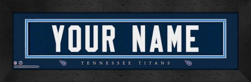 Tennessee Titans Personalized Stitched Jersey Print