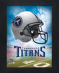 Tennessee Titans Framed 3D Wall Art