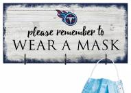 Tennessee Titans Please Wear Your Mask Sign