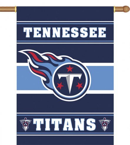Tennessee Titans NFL Premium 2-Sided House Flag