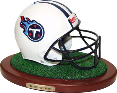 Tennessee Titans Collectible Football Helmet Figurine