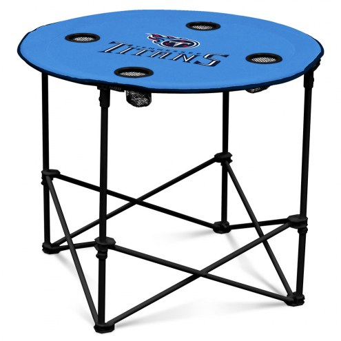 Tennessee Titans Round Folding Table