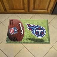 Tennessee Titans Scraper Door Mat
