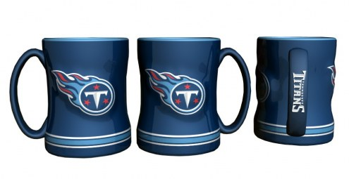 Tennessee Titans Sculpted Relief Coffee Mug