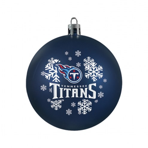 Tennessee Titans Shatterproof Ball Ornament