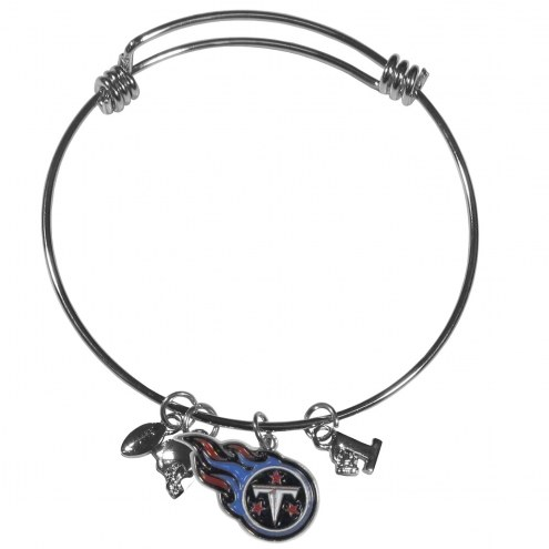 Tennessee Titans Charm Bangle Bracelet