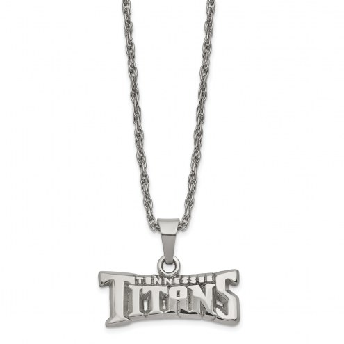 Tennessee Titans Stainless Steel Pendant on Chain