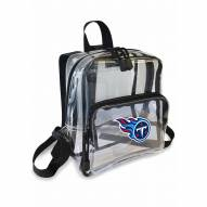 Tennessee Titans Stadium Friendly Clear Mini Backpack