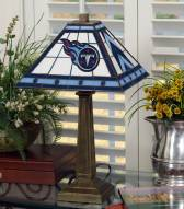 Tennessee Titans Stained Glass Mission Table Lamp