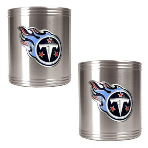 Tennessee Titans Stainless Steel Can Coozie Set