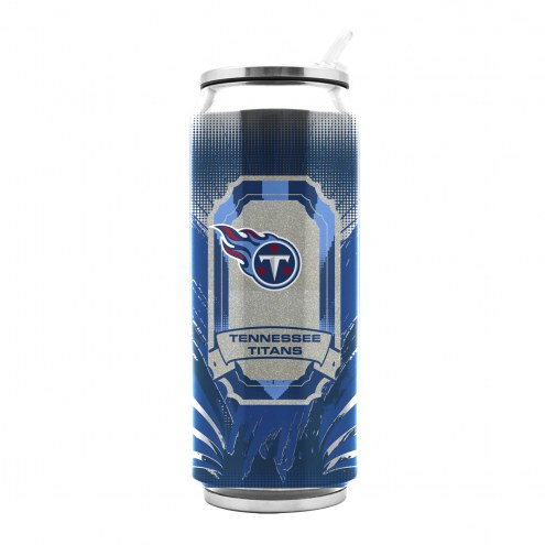 Tennessee Titans Stainless Steel Thermo Can