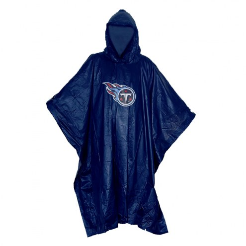 Tennessee Titans Stormfront Lightweight Rain Poncho