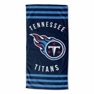 Tennessee Titans Stripes Beach Towel