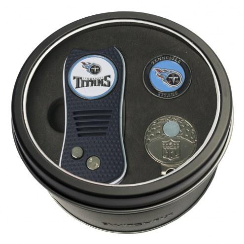 Tennessee Titans Switchfix Golf Divot Tool, Hat Clip, & Ball Marker