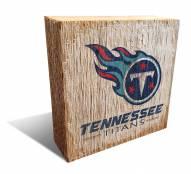 Tennessee Titans Team Logo Block