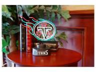 Tennessee Titans Team Logo Neon Lamp