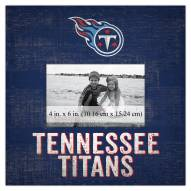 """Tennessee Titans Team Name 10"""" x 10"""" Picture Frame"""