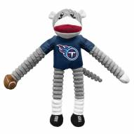Tennessee Titans Team Sock Monkey Pet Toy
