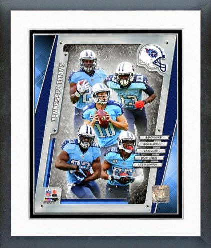 Tennessee Titans Tennessee Titans Team Composite Framed Photo