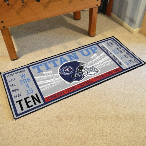 Tennessee Titans Ticket Runner Rug