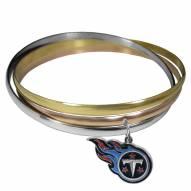 Tennessee Titans Tri-color Bangle Bracelet