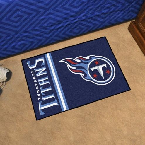 Tennessee Titans Uniform Inspired Starter Rug
