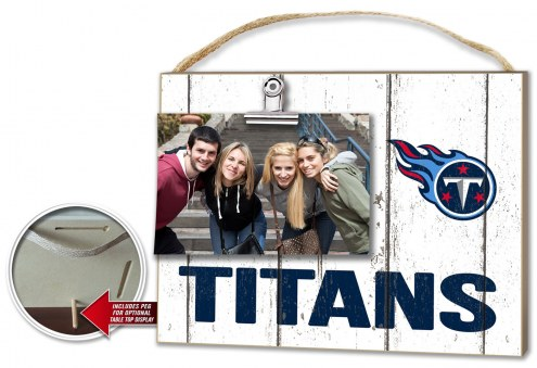 Tennessee Titans Weathered Logo Photo Frame