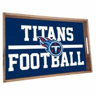 Tennessee Titans Wooden Serving Tray