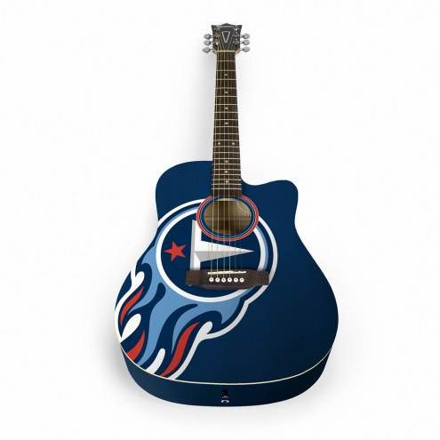 Tennessee Titans Woodrow Acoustic Guitar