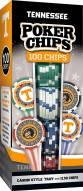 Tennessee Volunteers 100 Piece Poker Chips