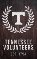 "Tennessee Volunteers 11"" x 19"" Laurel Wreath Sign"