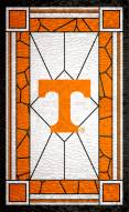 """Tennessee Volunteers 11"""" x 19"""" Stained Glass Sign"""