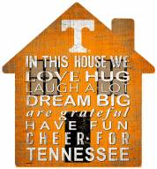 """Tennessee Volunteers 12"""" House Sign"""