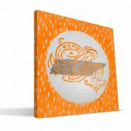 "Tennessee Volunteers 12"" x 12"" Born a Fan Canvas Print"