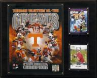 """Tennessee Volunteers 12"""" x 15"""" All-Time Greats Photo Plaque"""