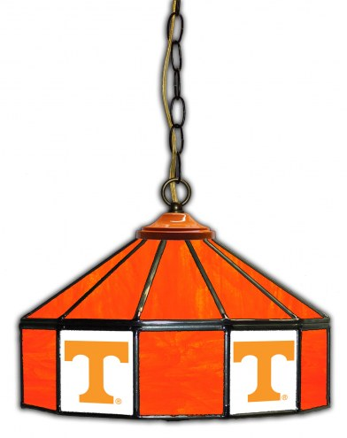 "Tennessee Volunteers 14"" Glass Pub Lamp"