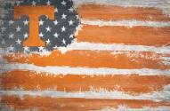 "Tennessee Volunteers 17"" x 26"" Flag Sign"