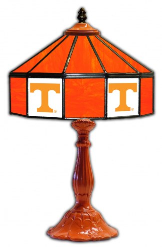 "Tennessee Volunteers 21"" Glass Table Lamp"