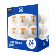 Tennessee Volunteers 24 Count Ping Pong Balls