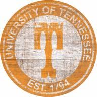 "Tennessee Volunteers 24"" Heritage Logo Round Sign"