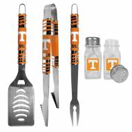 Tennessee Volunteers 3 Piece Tailgater BBQ Set and Salt and Pepper Shakers