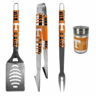 Tennessee Volunteers 3 Piece Tailgater BBQ Set and Season Shaker