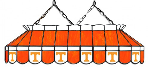 """Tennessee Volunteers 40"""" Stained Glass Pool Table Light"""